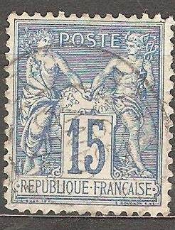 France 1892 Mi 83