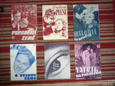 filmové programy 30 kusů