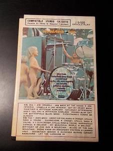 ! rarita WOODSTOCK 1. vydání ! ...... IMPORT USA / MC originál kaseta