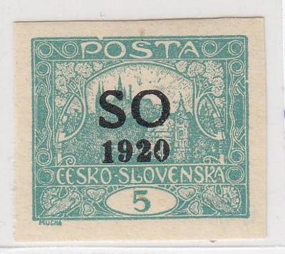 20. Hradčany - 5h - SO 1920 - zk. Mrňák, POFIS - **