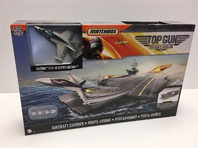 Velká letadlová loď TOP GUN, Maverick, originál MATCHBOX !