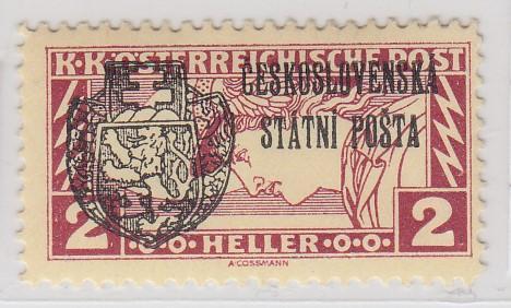 37. Revoluční 1918 - 2h spěšná - Pražský přetisk II - zk. Vrba **
