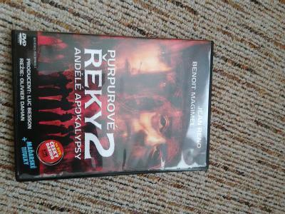 DVD Purpurové řeky 2 / Riviéres Pourpres 2