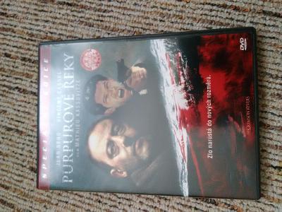 DVD Purpurové řeky / Les Riviéres Pourpres