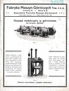 Leták stroje Maszyn Górniczych, Katovice