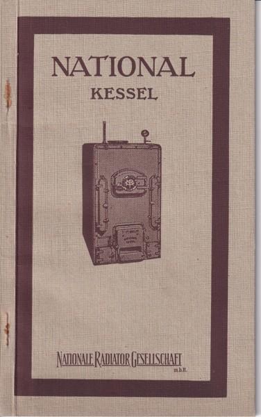 Katalog radiátory National Kessel, Berlín
