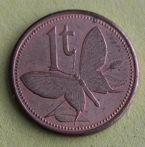 Papua New Guinea 1 toae 2002