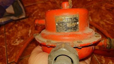 Regulator tlaku plynu PB 2x