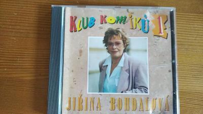 CD Klub komiků 1 - Jiřina Bohdalová