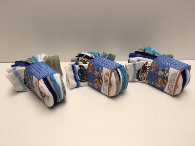 Originální dětské ponožky Tlapková kontrola velikost 19-22, 7 párů !