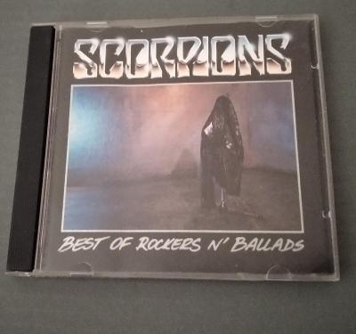 CD  SCORPIONS - Best of rockers ń ballads