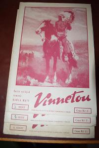 May: Vinnetou díly I,II, IV,V nekomplet., TaM 1939