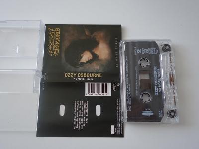 originál mc kazeta ; Ozzy Osbourne - No More Tears