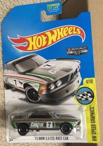Hot Wheels BMW 3.0 CSL ZAMAC od koruny