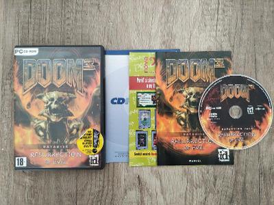 PC hra - DOOM 3 - Ressurection of Evil  - CZ