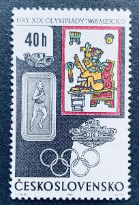 XIX.LOH Mexico 1968,  1672