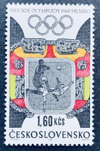 XIX.LOH Mexico 1968,  1675