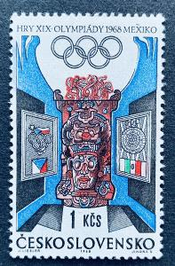 XIX.LOH Mexico 1968,  1674