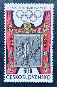 XIX.LOH Mexico 1968,  1673