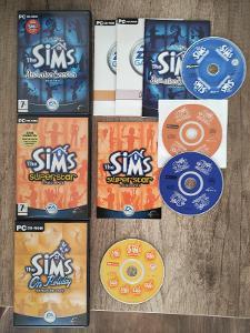 PC hry - The Sims 1 rozšíření - CZ