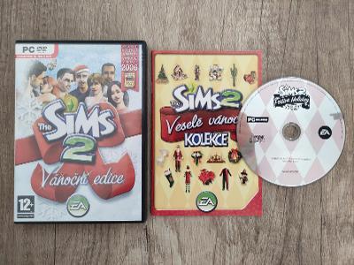 PC hra - The Sims 2 : Vánoční edice - CZ