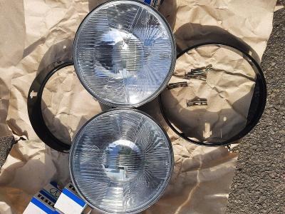 Nové světla a rámečky Škoda 110R, 100 a žárovky