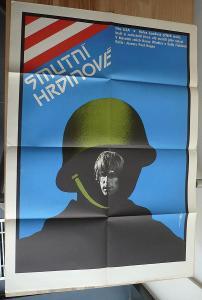 Smutní hrdinové (filmový plakát, film USA 1977, režie