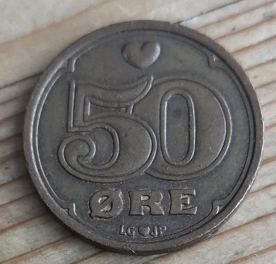 Dánsko 50 ore 1990