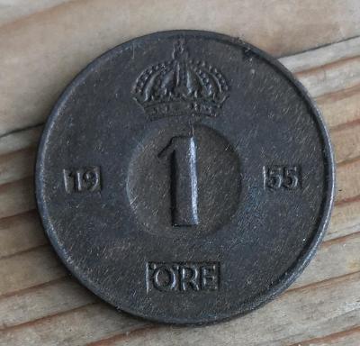 Švedsko 1 ore 1955