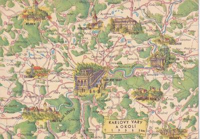 Československo-Karlovy Vary a okolí-mapa-památky-VF