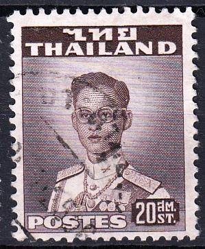 Thajsko 1951 Mi.285, prošla poštou