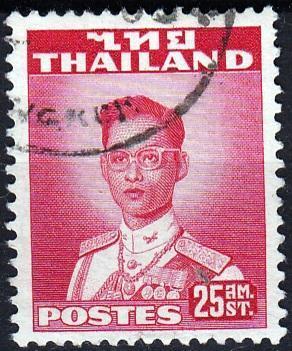 Thajsko 1951 Mi.286, prošla poštou