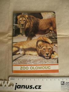 ZOO Olomouc brožurka s popisem a fotkami vydalo ČTK 1967 1. vydání