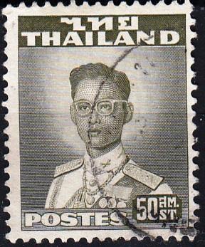 Thajsko 1951 Mi.287, prošla poštou