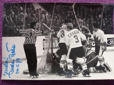 Rudolf Bata-Autogram Hokej Rozhodčí