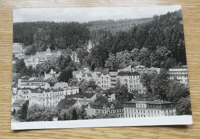 Pohled  Mariánské lázně 1951