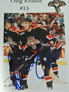 Oleg Kvasha-Autogram Hokej