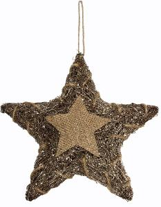 Hvězda s LED osvětlením 30 cm (66281269) H500