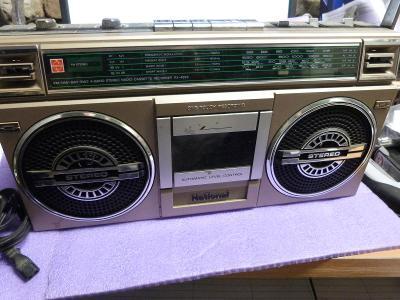 rarita krásně zachoválé stereo retro rádiomagnetofon zn. NATIONAL