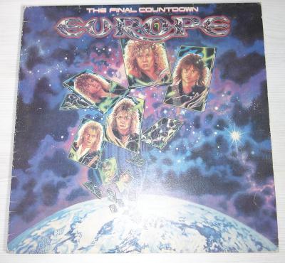 LP deska Europe - The Final Countdown - Supraphon 1988
