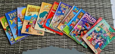 Komiksy Čtyřlístek 12 ks