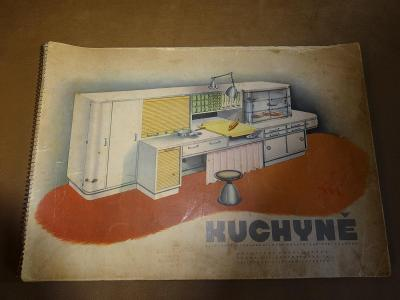 Starý originální velký katalog nábytku
