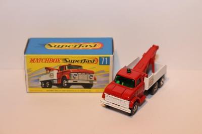 Matchbox SF No.71 Ford heavy wreck truck