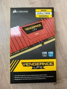 Operační paměť Corsair 16GB KIT DDR4 3200MHz CL16 Vengeance LPX