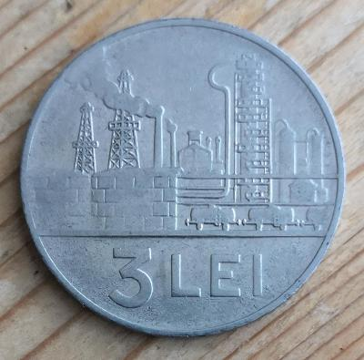Rumunsko 3 lei 1963