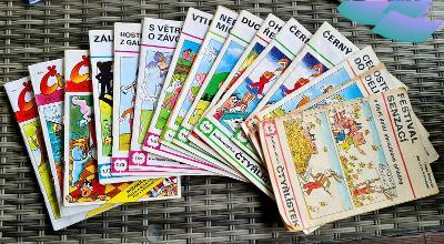 Komiksy Čtyřlístek 14 ks od 64 do 241