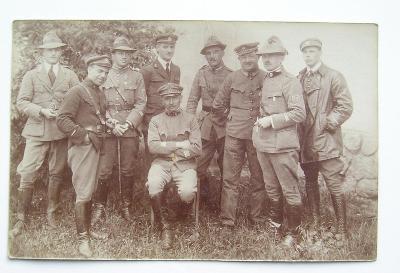 Fotopohlednice - první republika - voják RČS - legie - Itálie