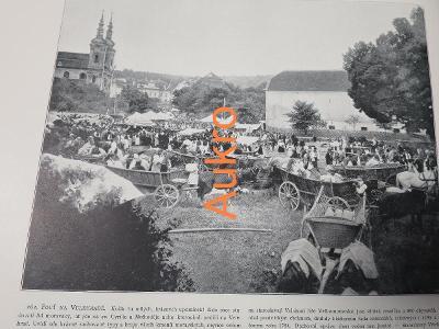 Velehrad pouť a Litice řeka Orlice 1898
