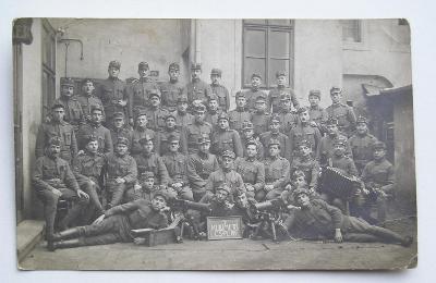 Fotopohlednice - první republika - 88 pluk - Trmice - Ústí nad Labem