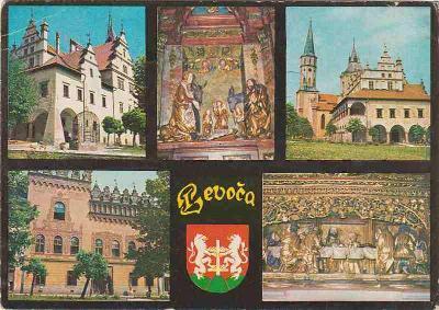 Levoča (radnice-Thurzov dom-interiéry...)